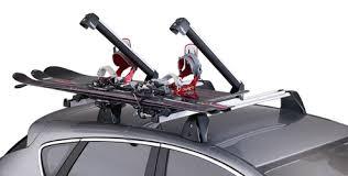 porta sci auto opel crossland x accessori thule porta sci snowboard xtender 739