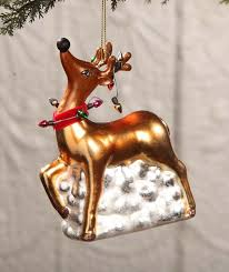 reindeer ornament with lights by bethany lowe designs