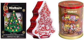 christmas tins walkers shortbread unveils new 3d christmas tins