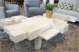 Table Designs White Stone Coffee Table Lovely Coffee Table All Stone Coffee