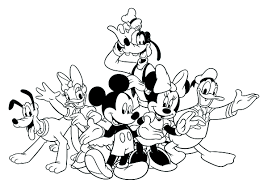 mickey mouse clubhouse coloring pages coloringeast com