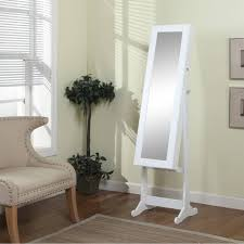 Free Standing Jewelry Armoire With Mirror Best 25 Of Cream Free Standing Mirrors