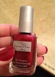 karma organic nail polish and non gmo soy based nail polish remover