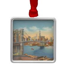 new york bridge ornaments keepsake ornaments zazzle
