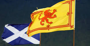 France Flag Meaning The Flags Of Scotland Saltire And Lion Rampant