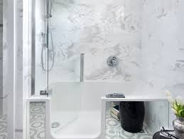 shower alluring walk in tub and shower combo important walk in