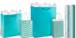 blue gift bags robin s egg blue gift bags gift wrap party city