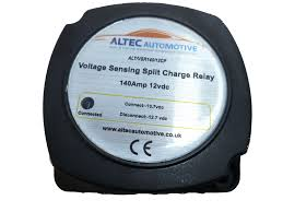 caravan trailer voltage sensing vsr split charge fridge 12 volt