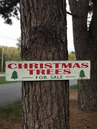 fixer trees for sale wood sign