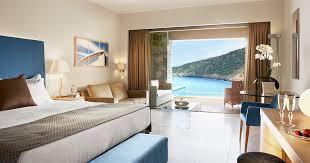 chambre de luxe avec chambres deluxe vue mer avec piscine privée daios cove