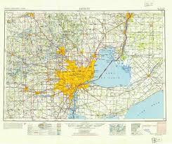 Map Eastern Usa by Detroit Map Usa Detroit Usa Map Michigan Usa