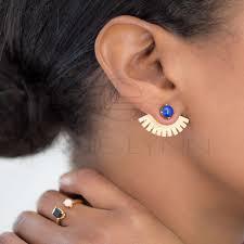 gold ear cuffs lapis ear wings ear jackets ear cuffs gold ear cuffs lanie