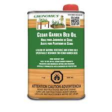 gronomics 1 qt cedar garden bed oil gbo 1q the home depot