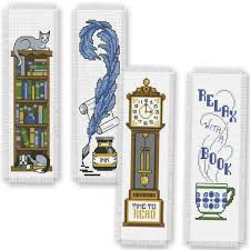 herrschners book bookmarks counted cross stitch