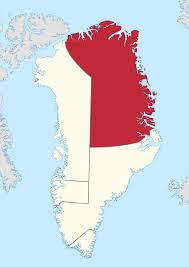 Map Of Northeast Northeast Greenland National Park Wikipedia