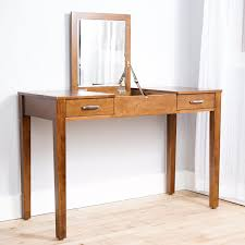 Oak Makeup Vanity Table Bedroom Vanity Bedroom Makeup Vanity Unfinished Vanity Table 48
