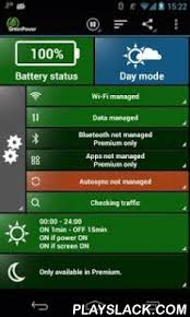 battery savers for androids greenpower free battery saver android app playslack