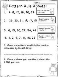 best 25 number patterns ideas on pinterest first grade math