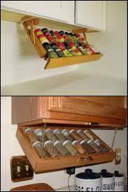 Kitchen Cabinet Spice Organizers 95 Best Kitchen Storage Images On Pinterest Kitchen Storage