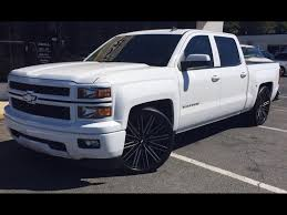lifted white gmc post up your summit white silverado sierra 2014 2015 2016