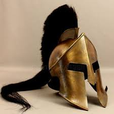 King Leonidas Costume Halloween 300movie King Leonidas Spartan Helmet Greek Warrior Costume Helmet