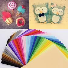 Handmade Fabric Crafts - felt fabric for patchwork polyester fabrics non woven felt 1 mm
