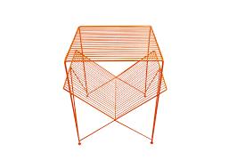 Orange Side Table Atria Side Table Orange Gliese Design