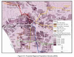 East Los Angeles Map by For Your Viewing Pleasure Density Maps Overlaid With Transit