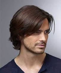 medium long hairstyle guys women medium haircut