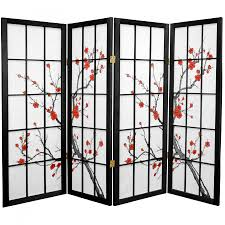cherry blossom home decor 4 ft tall cherry blossom shoji screen roomdividers com