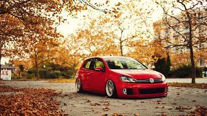 slammed cars wallpaper hd autumn gti stance wallpaper screensavers ventube com