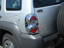 2004 jeep liberty tail light jeep liberty chrome tail light bezel trim covers