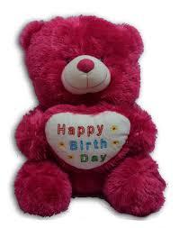pink cuddles happy birthday teddy big giftersbay