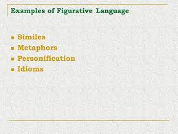 figurative language ppt download