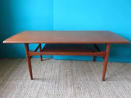 scandinavian teak coffee table from 1960s for sale idolza