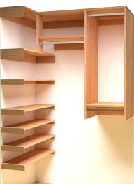 Wooden Corner Shelf Plans by Step In Closet Organizer Plans Closet Pinterest Custom