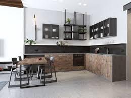 cuisine couleur bois quelle couleur pour une cuisine tendance