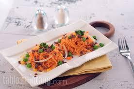 membuat mie dari wortel resep mie wortel sehat tabloidbintang com
