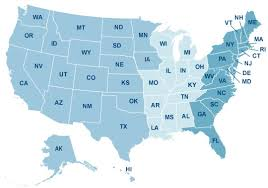 virginia on a map of the usa pension management centers pension