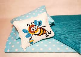 buy bed linen for dolls 3 32 cm turquoise bed linen
