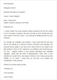 letter of proposal proposal letter template 15 free word pdf