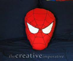 the creative imperative spiderman pillow tutorial