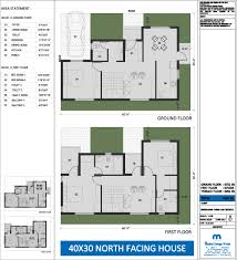 40 x 30 house plans north facing