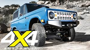 icon bronco ford icon bronco road test 4x4 australia youtube