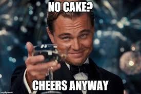No Cake Meme - grumpy cat birthday meme imgflip