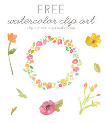 Clip Art Flowers Border - watercolor clipart floral border transparent background free free
