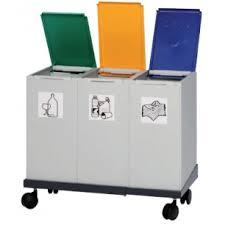 poubelle de bureau tri selectif chariot 101 141 pour poubelle tri sélectif cocina porche