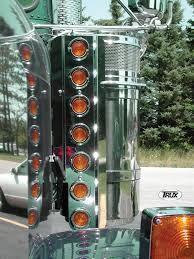 peterbilt air cleaner lights freightliner classic air cleaner lighting