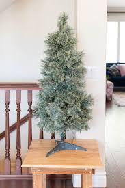 cheap christmas trees using picks to transform your cheap christmas tree all things thrifty