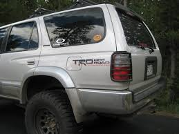 largest toyota trd decals on 4runners toyota 4runner forum largest 4runner